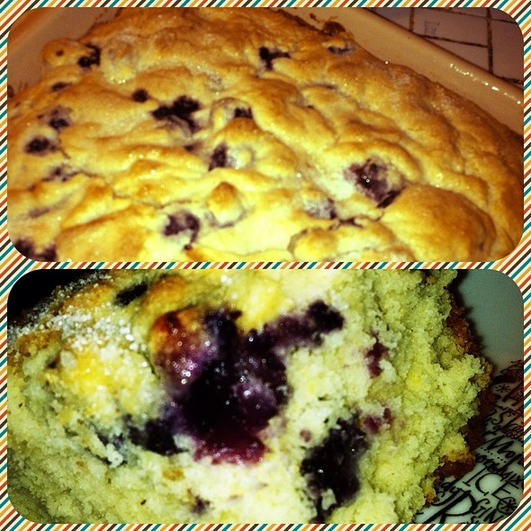 Blueberry Buttermilk Breakfast Cake @ GGG Secret Lair