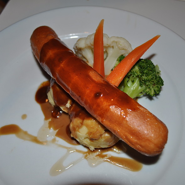Jumbo Sausage @ Harvest Inn Cafe