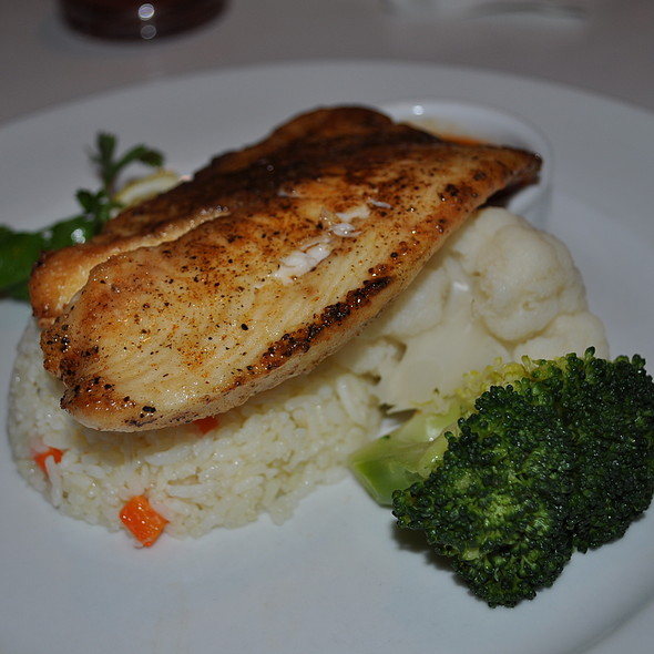 Pan Seared Dory Fish @ Harvest Inn Cafe