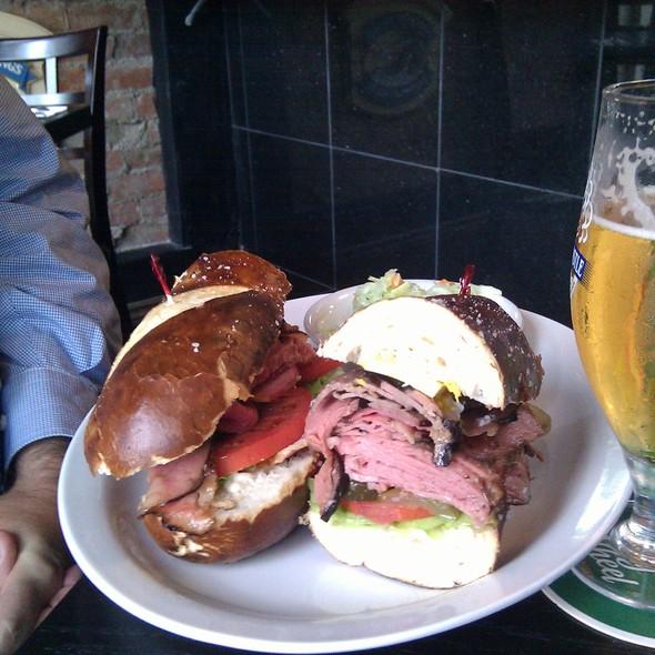 Trifecta sandwich @ Corned Beef House