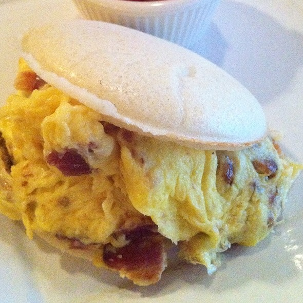 Breakfast Arepa @ Coupa Cafe