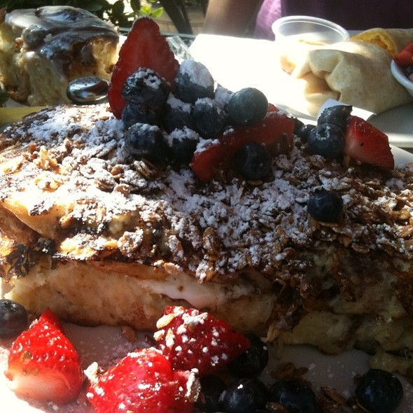 French Toast w/ Seasonal Berries @ Ann Sather's Restaurant