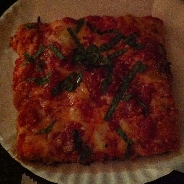 Grandma Bess Pizza @ Two Boots