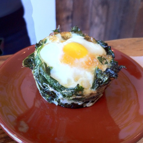 Kale And Egg Cup @ Greene Grape Annex