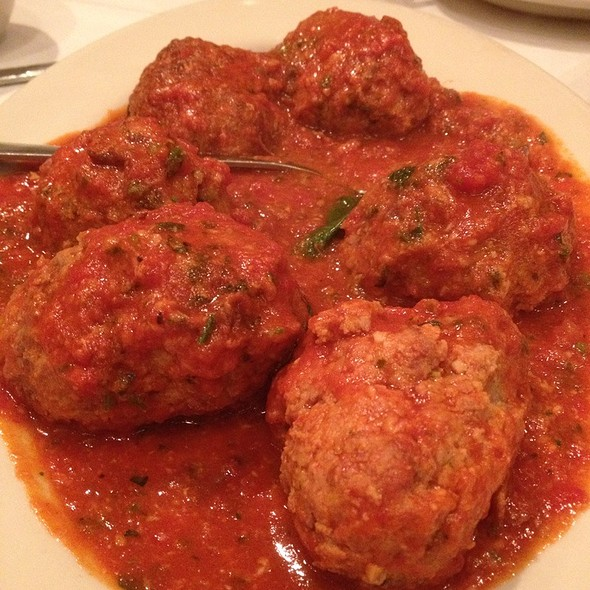 Meatballs @ Carmine's