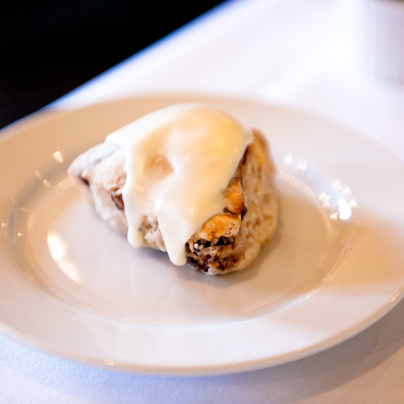 Maple Glazed Scone @ Farmhouse Inn & Restaurant