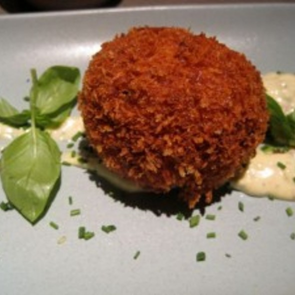 Lump Crab Fritters @ Floataway Cafe