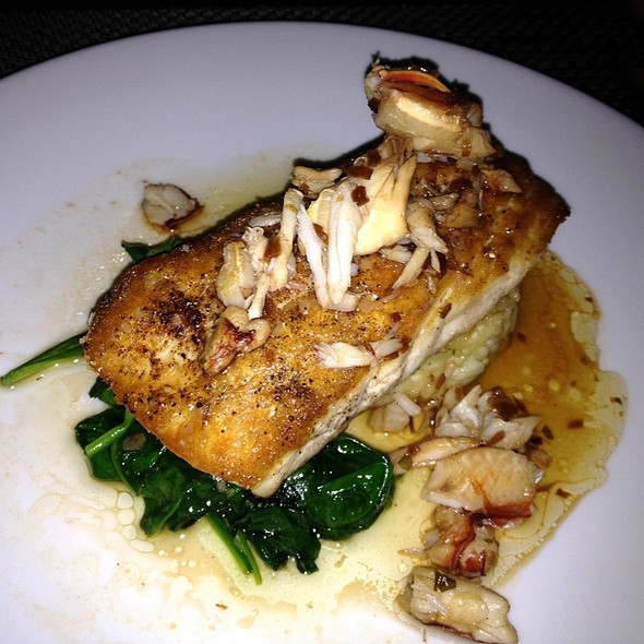 Pan-Roasted Sea Bass - BALEENkitchen, Redondo Beach, CA