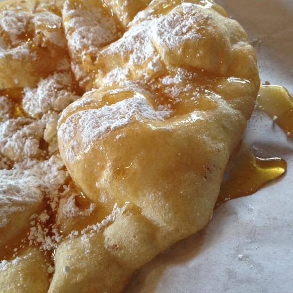Powdered Sugar And Honey Fry Bread @ Fry Bread House