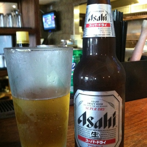 Asahi Beer @ NABI neighborhood restaurant