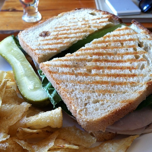 Turkey and Cranberry Sandwich @ Ground Coffee