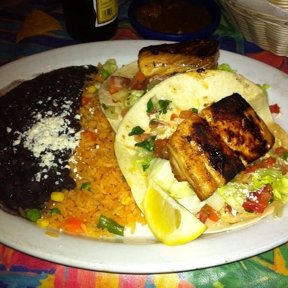 Mahi Mahi Tacos - Blue Coyote Bar & Grill, Palm Springs, CA