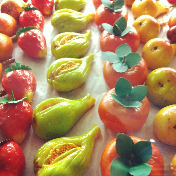 Marzipan  Fruits @ Villabate Alba Pasticcheria Italiana