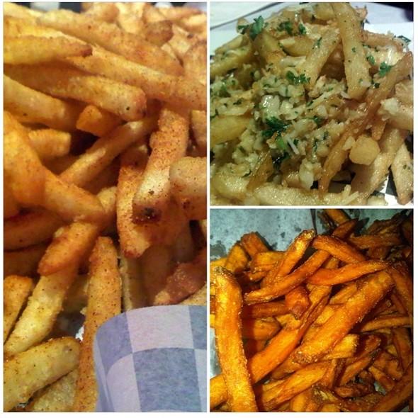 Cajun Fries @ Claws Restaurant