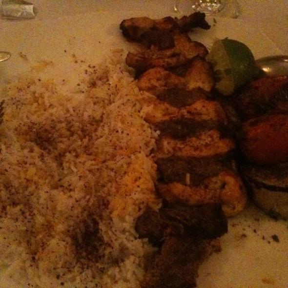 Ravagh Special Kabob @ Ravagh Restaurant
