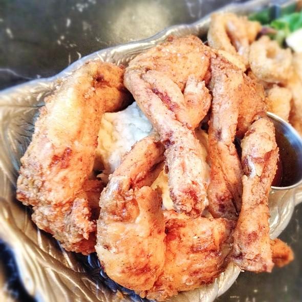 Fried Frog Legs w/ Spicy Tartar Sauce - Ranch 616, Austin, TX