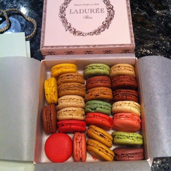 Assorted Macaroons @ Ladurée