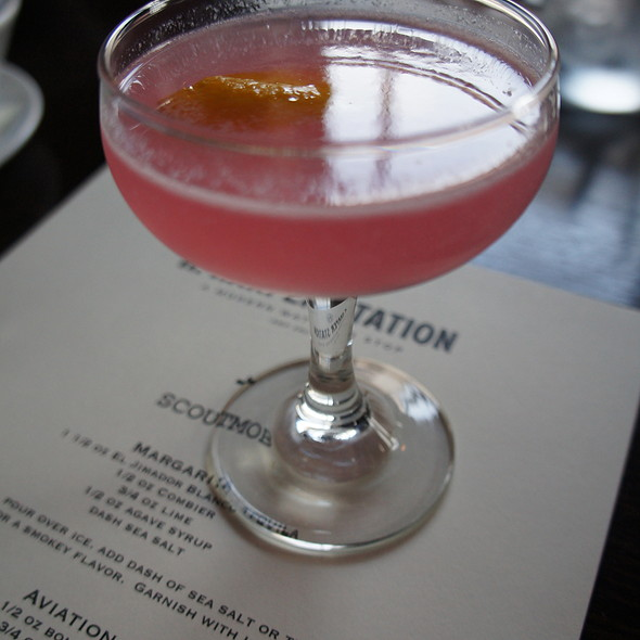 The Aviation Cocktail @ H. Harper Station