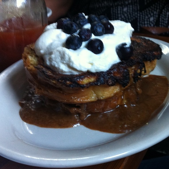 Toffee French Toast - The Haven, Jamaica Plain, MA