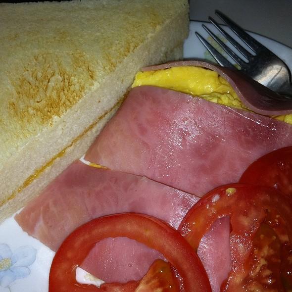 Breakfast Combo With Scrambled Eggs @ Australia Dairy Company