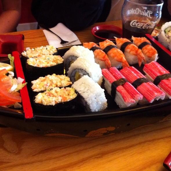 Mixed Sushi Platter @ Sumo