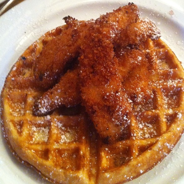 Chicken and Waffles @ Mignon