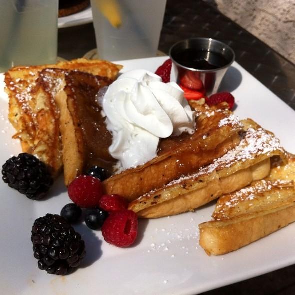 French Toast w/ Seasonal Berries - Bourbon Blue, Philadelphia, PA