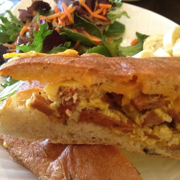 Chorizo Sandwich @ Cafecito Bogota