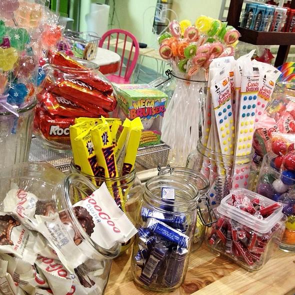 Retro Candy @ Mother Moo Creamery