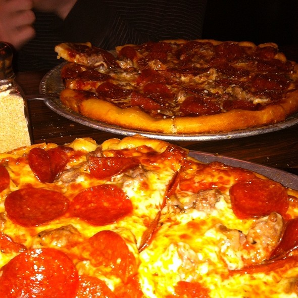 Pepperoni And Sausage Pizza @ Tony's Baltimore Grill