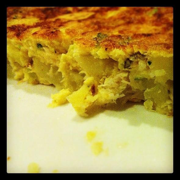 Homemade Tortilla @ Ohm