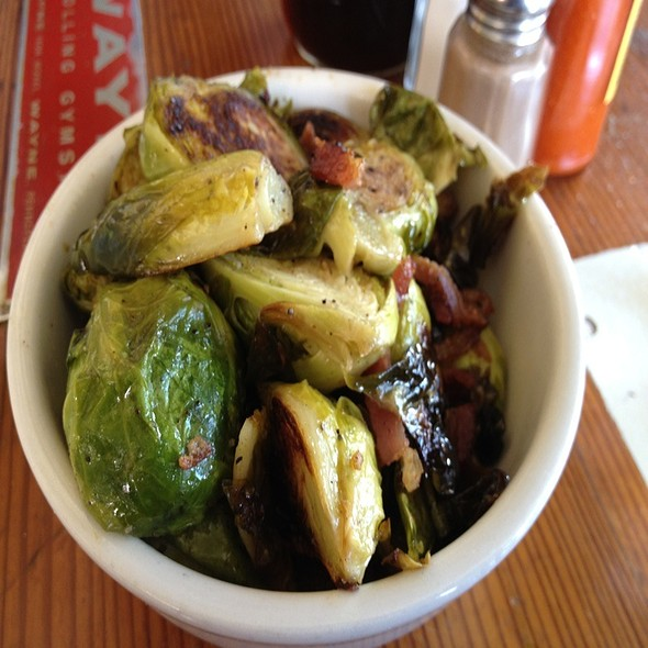 Brussel Sprouts With Bacon @ Homeroom