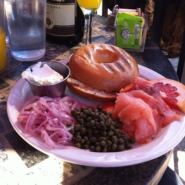 Bagel & Lox @ Cafe Eclectic