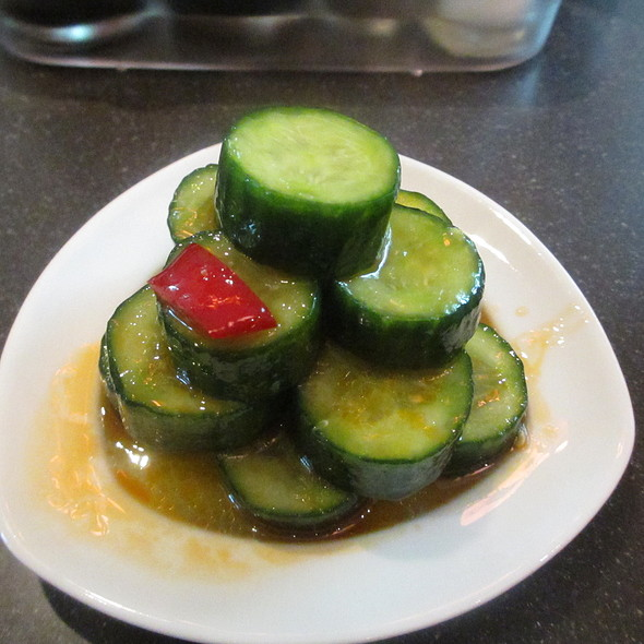 Chinese Cucumber Vegetable Appetizer Combo