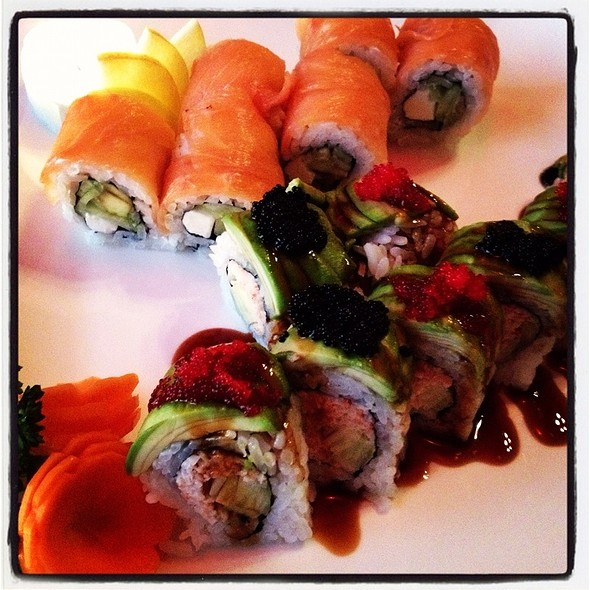 Caterpillar And Philadelphia Rolls @ Swordfish
