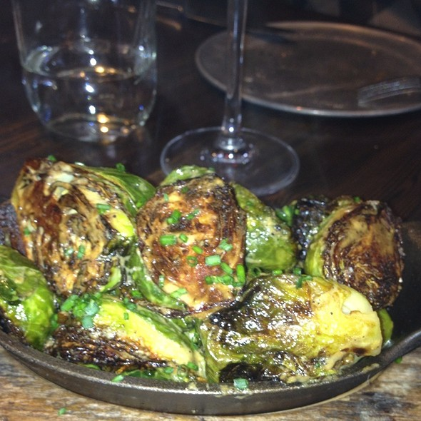 Charred Brussel Sprouts Soaked In A Dijon Sauce @ Local Habit