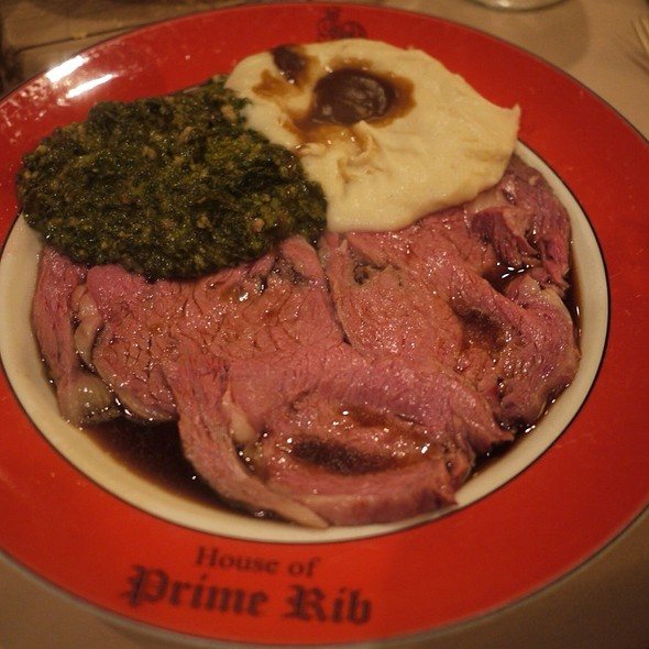 The English Cut - House of Prime Rib, San Francisco, CA