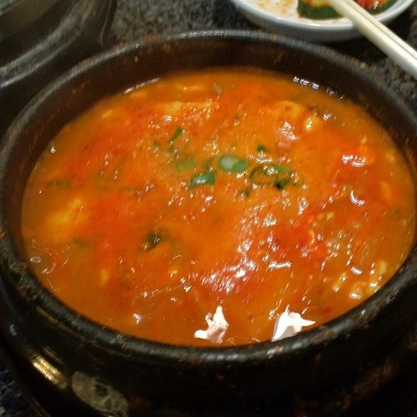Kimchee Tofu Soup With Beef @ Stone Korean Restaurant