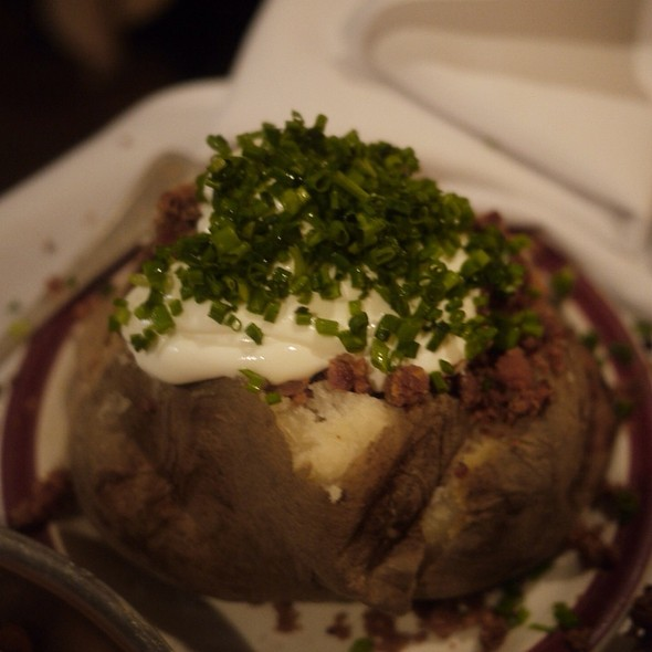 Baked Potato - House of Prime Rib, San Francisco, CA