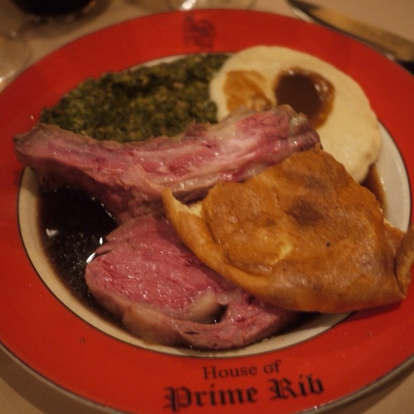 The House Of Prime Rib Cut