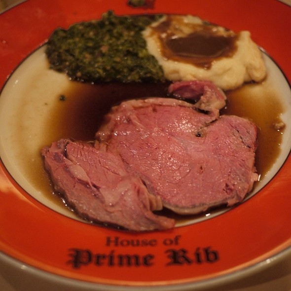 Second Servings - House of Prime Rib, San Francisco, CA