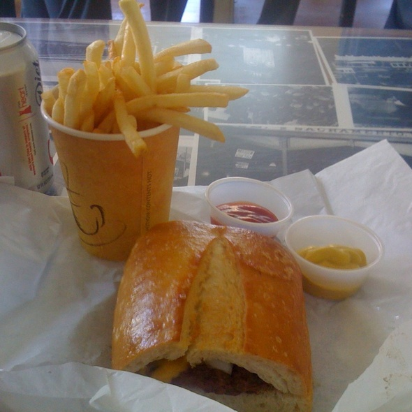 Burgers and Fries @ Red's Java House