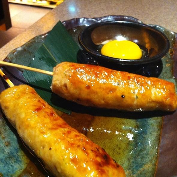 Tsukune - Minced Chicken Skewer @ Inaniwa Udon-Nabe Japanese Restaurant
