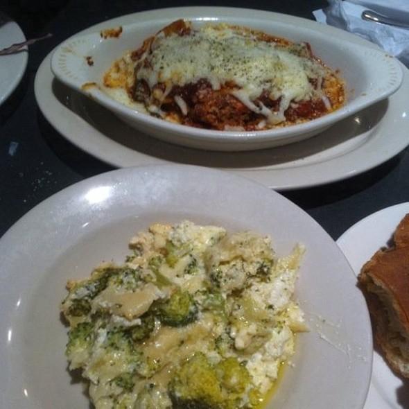 Broccoli And Traditional Lasagnas @ Joseph's Pizza
