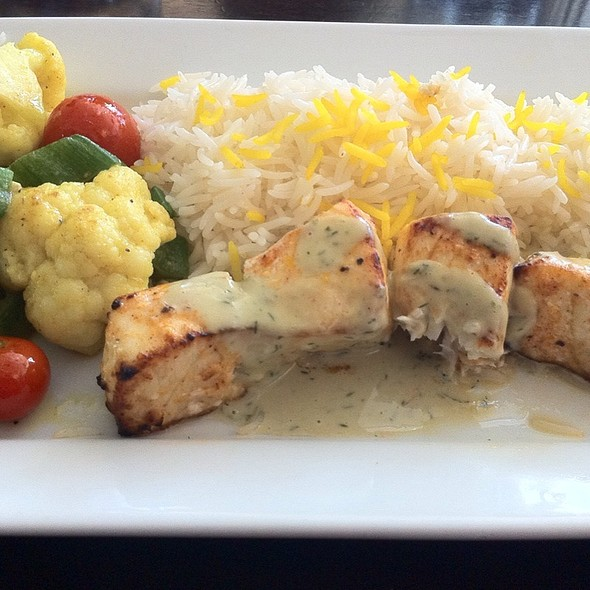 Grilled Swordfish Kebab @ Laili Restaurant
