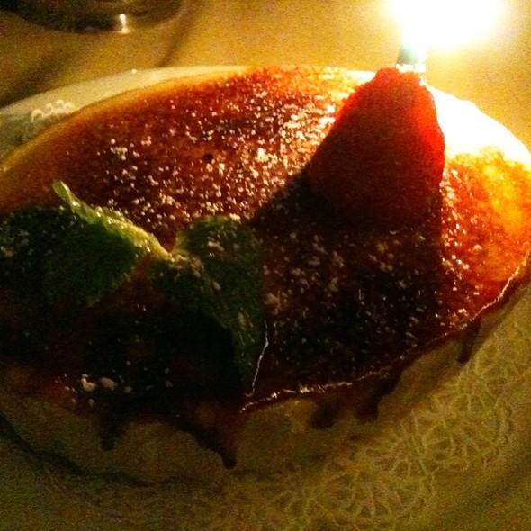 Classic Geoffrey's Crème Brûlée - Geoffrey's Restaurant, Malibu, CA