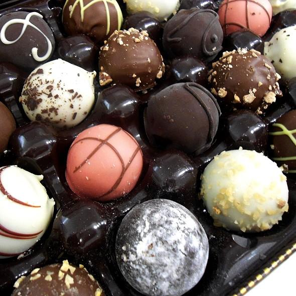 Assorted Godiva Truffles @ Godiva Chocolatier