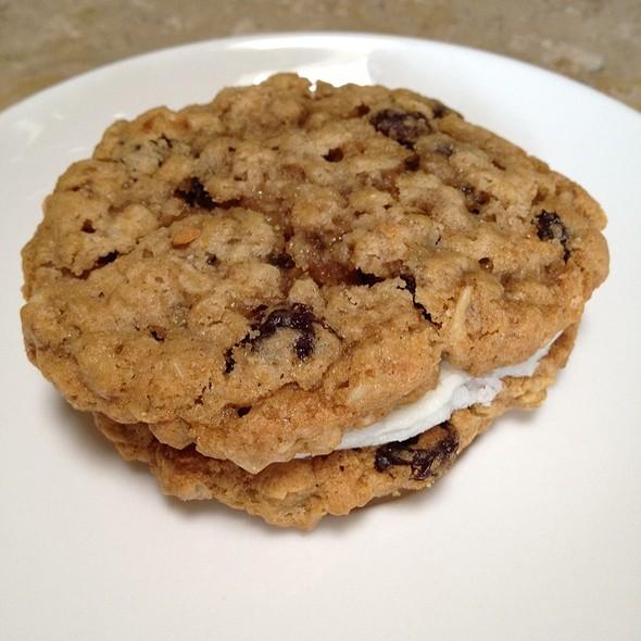 Oatmeal Raisin Cookie Sandwich @ Cafe Bernardo - Midtown