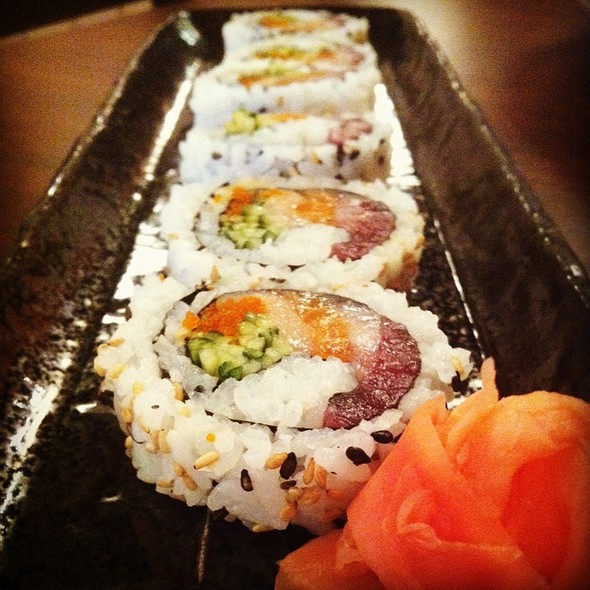 Spicy Kamikaze Roll @ Kissho Sushi Restaurant