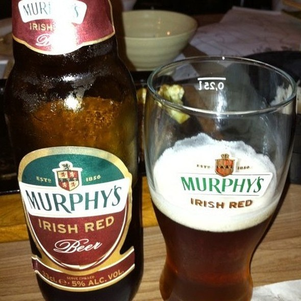 Murph's Irish Red Beer